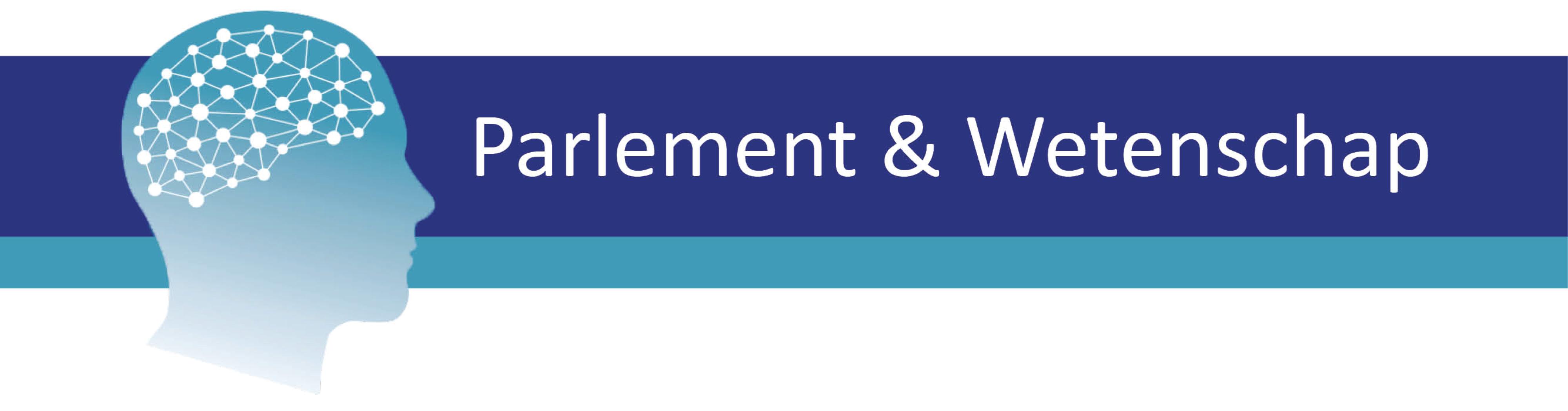 Logo Parlement & wetenschap